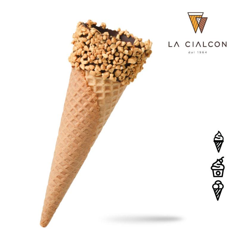 Zuckertüte Cono Ricoperto Granella