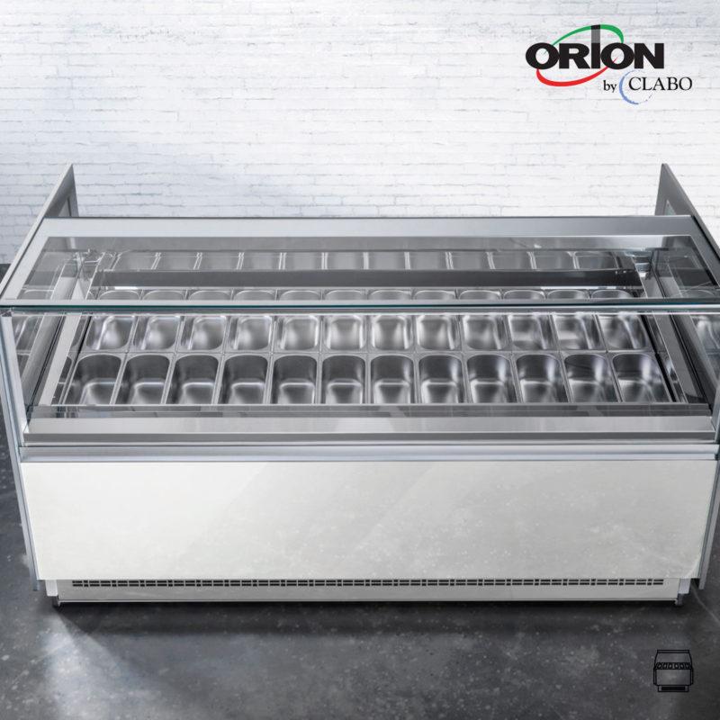 Orion Eisvitrinen
