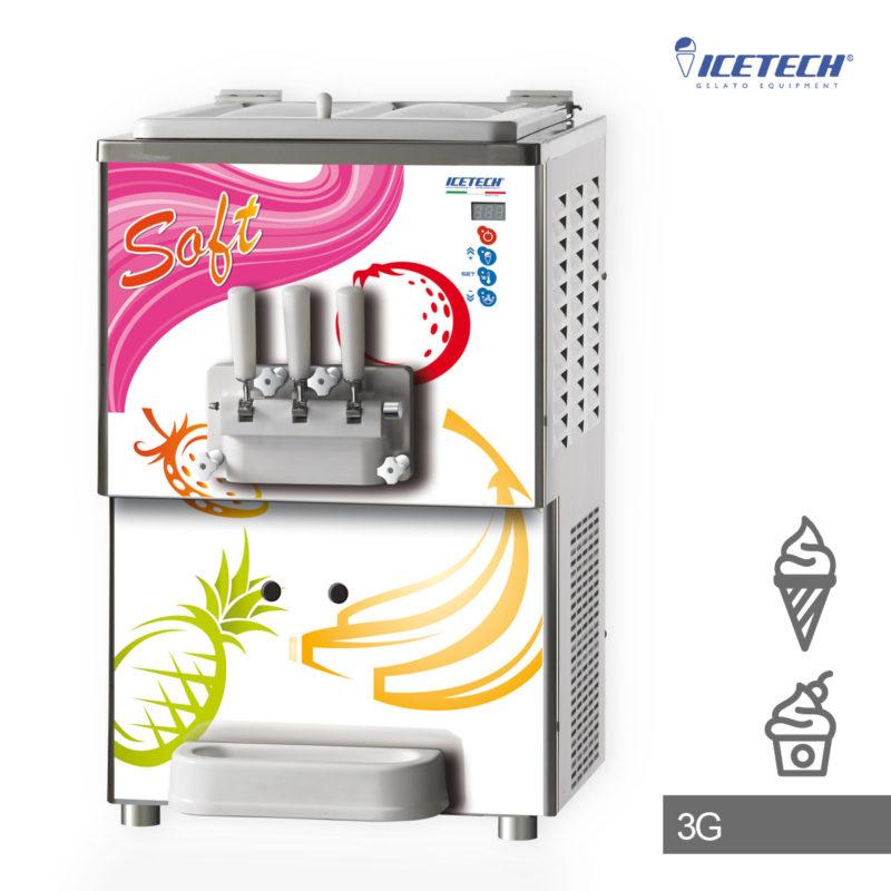 ICETECH Softeismaschine BABY 3 G